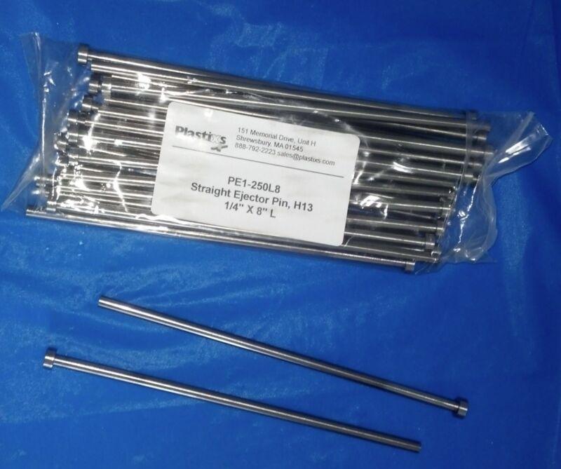 """1/4"""" x 8"""" Ejector Pins - Pkgs of 25 pcs"""