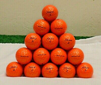 48 Titleist Velocity 5A Orange Golf Balls