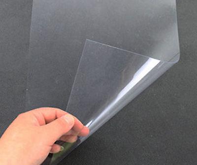 5pcs Clear Pvc Plastic Sheet Film A4 0.2mm210mm297mm B6d