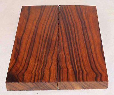 Desert Ironwood Bookmatched Figured Knife Scales Turning Wood Turning Blanks