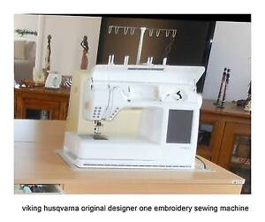 Husqvarna Designer one embroidery sewing  machine Curra Gympie Area Preview