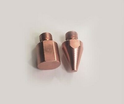 3 Pair Spot Welder Flat Tips Tnt040212 For Miller Tt-6 Tt-9 G7 Welding Tong