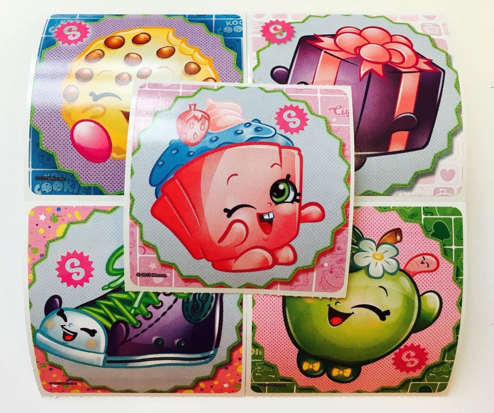 25 Shopkins Stickers Party Favors Teacher Supply Food Fun Bi