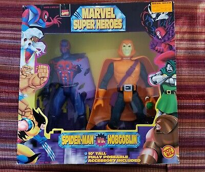 Spider-Man 2099 + Hobgoblin Marvel Super Heroes By Toy Biz 1997 new