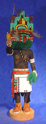"HUGE 20"" ht HOPI Hemis Kachina by Earl Uaw Yetewa c.1970, cottonwood root for sale  Aliso Viejo"