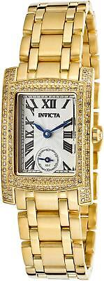 Invicta 15628 Angel Seconds Diamond Accented Swiss Stainless Steel Womens Watch