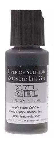 XL Gel Liver of Sulfur 1 fl oz