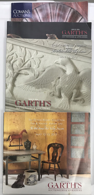 Garth's And Cowan's Auction Catalogs