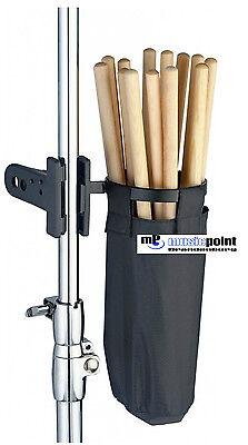 DSHB 100 Drum Stick Holder Drumstick Halter Aufbewahrungsbeutel für Sticks