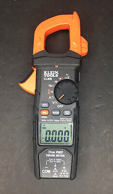 Klein Tools Cl800 Acdc True Rms Auto-ranging Digital Clamp Meter