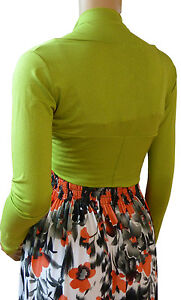 New Bolero / Shrug Cardigan Ladies Top - UK Size(12,14,16,18,20 & 22) 20 Colors