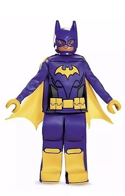 Lego Batman Movie BATGIRL, Dress Up Prestige Costume L 10-12, Complete NEW