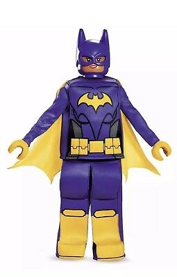 Lego Batman Movie BATGIRL, Dress Up Prestige Costume L 10-12, Complete NEW - Movies Dress Up