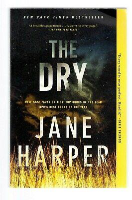 Jane Harper THE DRY Trade Paperback SIGNED Australian Author's 1st