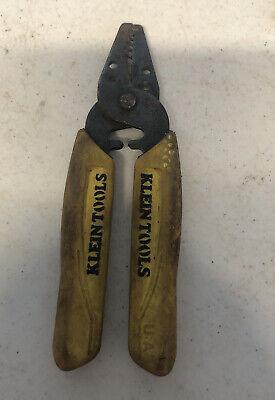 Klein Tools 11045 Wire Stripper Cutter Yellow