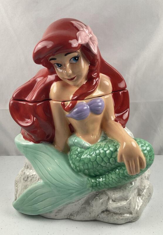 Disney #24313 Westland Ariel on Rock Cookie Jar The Little Mermaid