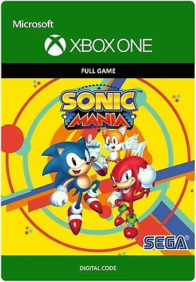 SONIC MANIA XBOX ONE FULL GAME KEY