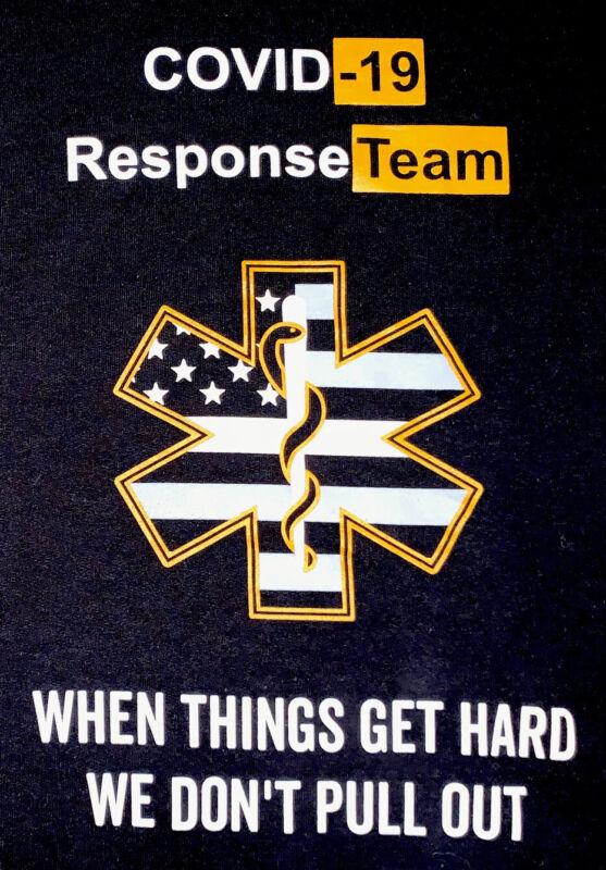 FDNY NYC Fire Department New York City SweatShirt Sz M EMS Paramedic Brooklyn