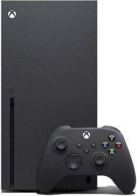 Microsoft Xbox Series X 1TB Console - Nero - Edizione con Blu-Ray - NUOVA