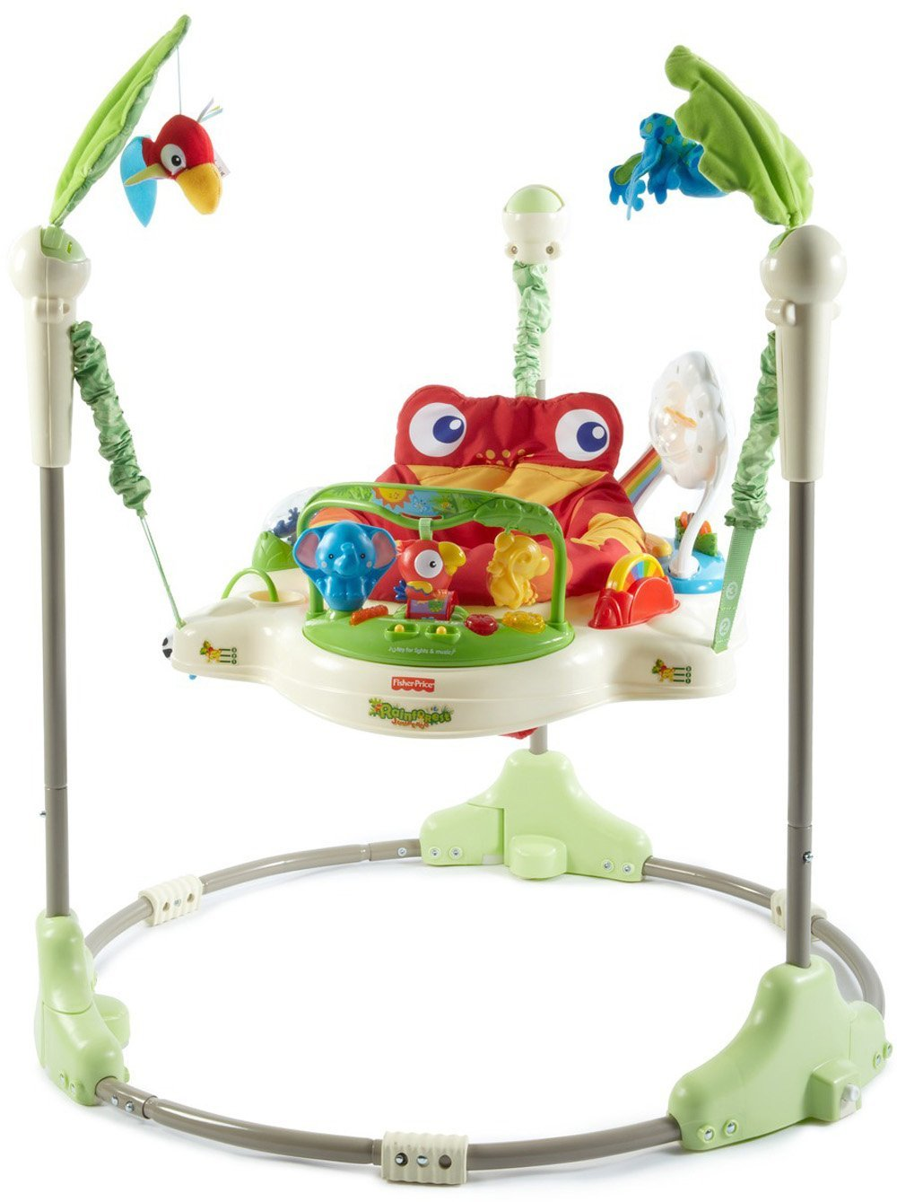 b73691275cec Fisher- Rainforest Jumperoo Baby Activity Jumper - Model K6070 - for ...