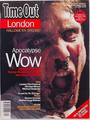 Cillian Murphy Halloween Zombie Danny Boyle 28 Days Later  TIME OUT MAGAZINE UK](28 Days Later Halloween)