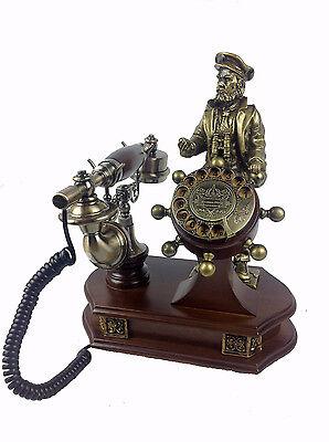 Antik Telefon Gold Nostalgietelefon Tetraflor Design Nostalgie 15