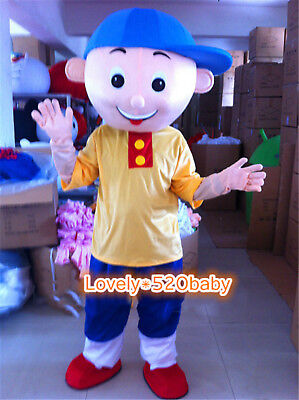 Caillou Boy Mascot Costume Cartoon Party Cosplay Parade Adults Fancy Dress Suits - Caillou Costume