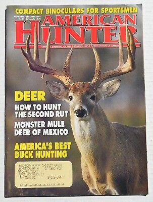 American Hunter Magazine - November/December 1994 - Deer, Best Duck