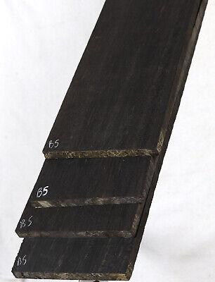 Best Gabon ebony electric 5-string BASS guitar fingerboard blank