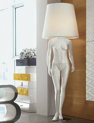 "VICTORIA Floor Lamp. Height 86"". Made in Italy. Solid wood."