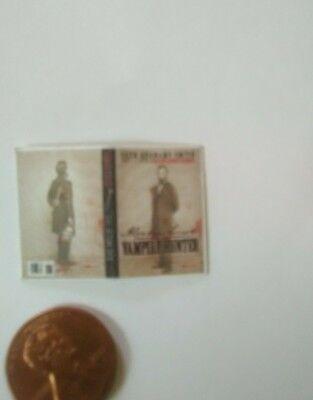 Abe Lincoln Vampire Hunter dollhouse miniature book](Abe Vampire Hunter)