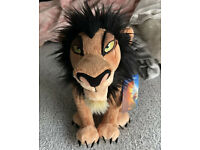 Scar Plush Medium Disney Store The Lion King 14/'/' New with Tags
