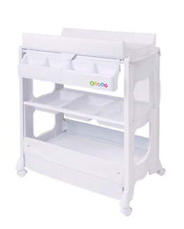 Baby bath / change table with stand
