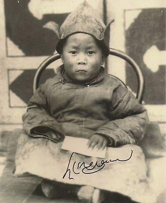 Dalai Lama Vintage Photo 8X10 Hand Signed Autographed Photo Reprint
