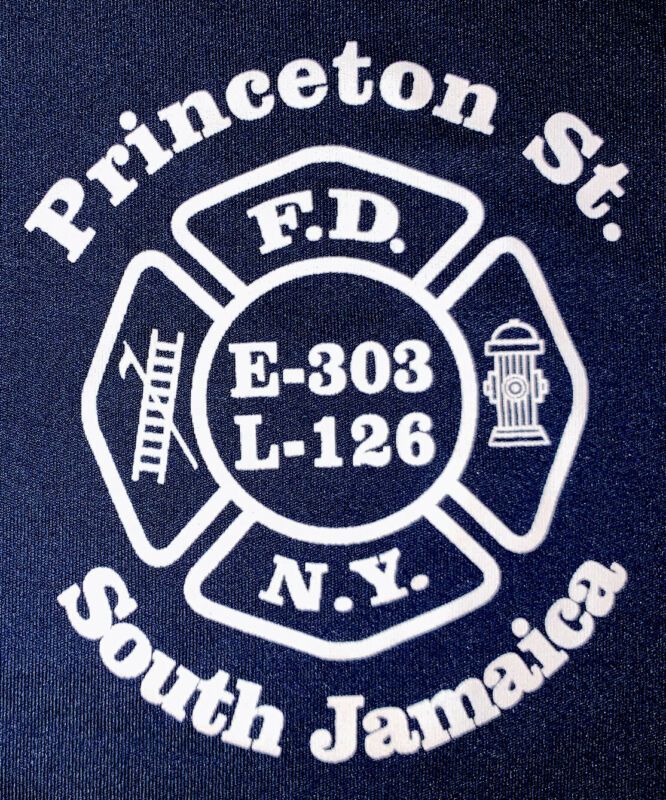 FDNY NYC Fire Department New York City T-Shirt Sz XL Engine 303 Queens