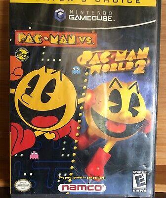 Pac-Man vs./Pac-Man World 2 (Nintendo GameCube, 2003)