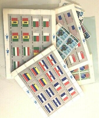 Collection Stock Of Un In a Large Priority Box Most Stationary Pile Of Flags Un1