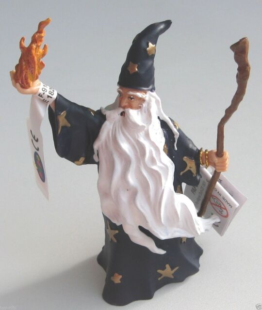 MERLIN THE MAGICIAN WIZARD FANTASY FIGURE BY PAPO - BRAND NEW WITH TAGS!!