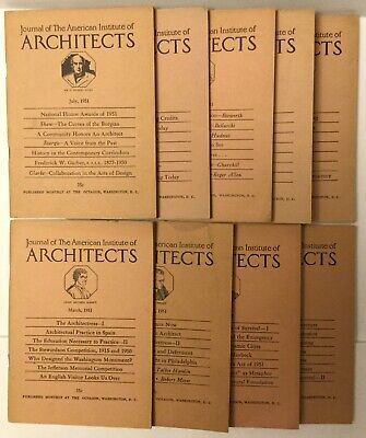 1951 JOURNAL OF THE AMERICAN INSTITUTE OF ARCHITECTS BOOK