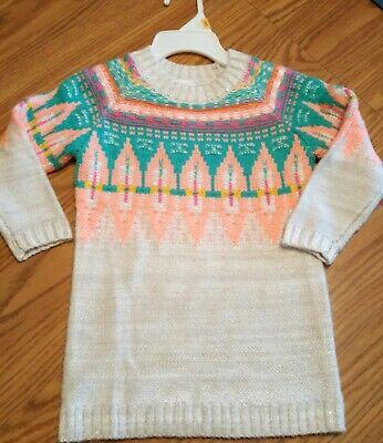 Cat & Jack Infant Girl's Sweater Dress 12 Months. EUC!