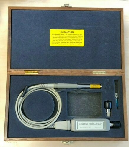 Agilent HP 85024A 300kHz - 3Ghz High RF Frequency Probe with Wooden Case