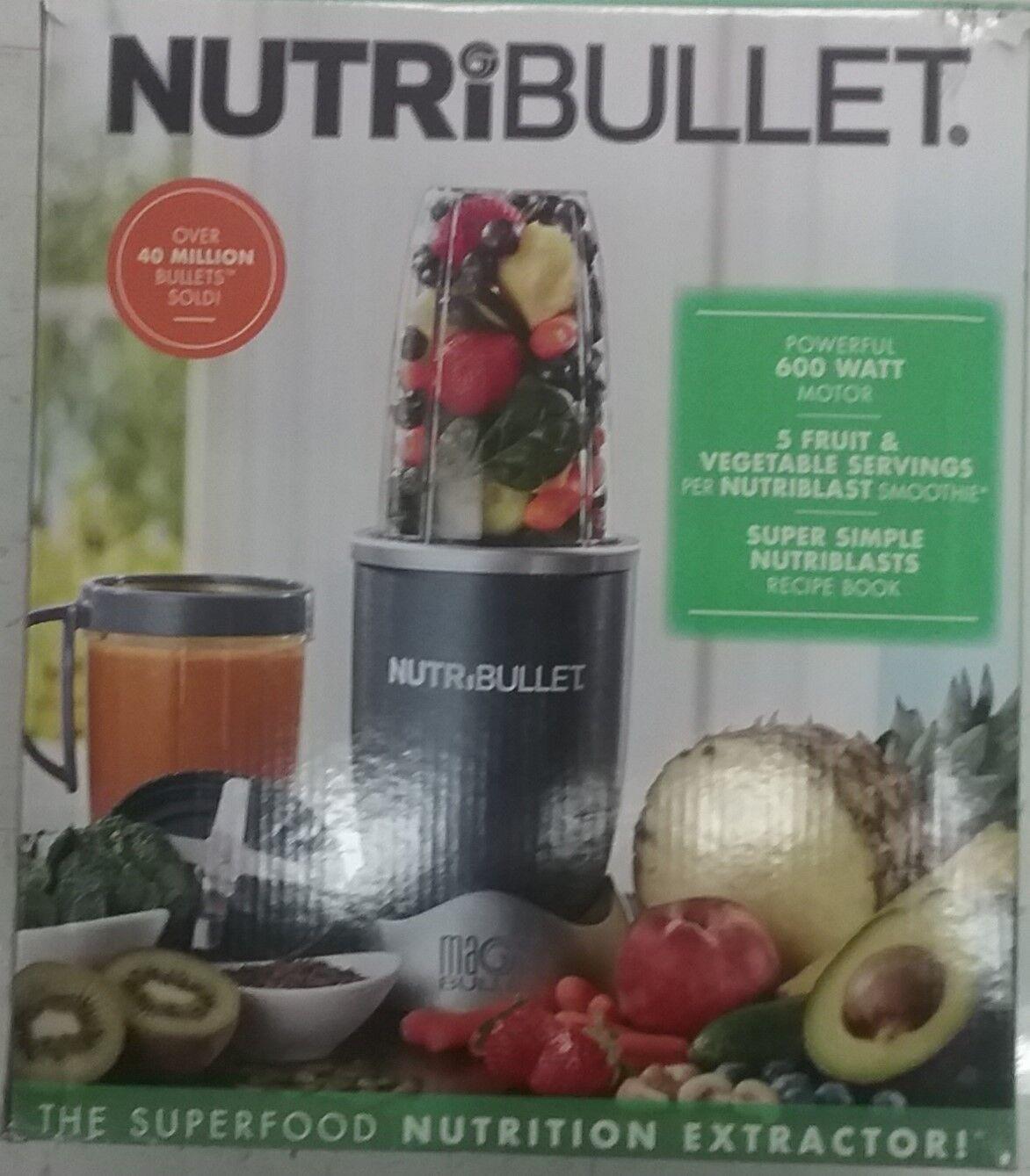 Nutribullet Magic Bullet Blender Smoothie Maker Green Veggie 600 Watt Best
