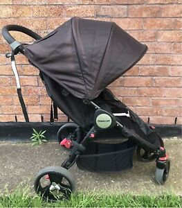 Steelcraft Agile Compact Pram Stroller in Charcoal Bexley North Rockdale Area Preview
