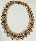 Trifari Gold Tone Necklace