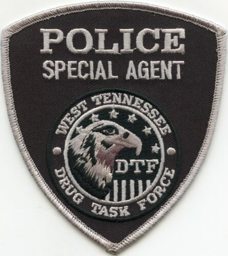 WEST TENNESSEE TN DRUG TASK FORCE NARCOTICS SPECIAL AGENT POLICE PATCH