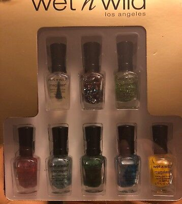 Wet n Wild best of mega last salon nail color collection gift