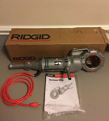 Ridgid 41935 700 Power Drive 115v Pipe Threader Rigid Threading Pony 300 141
