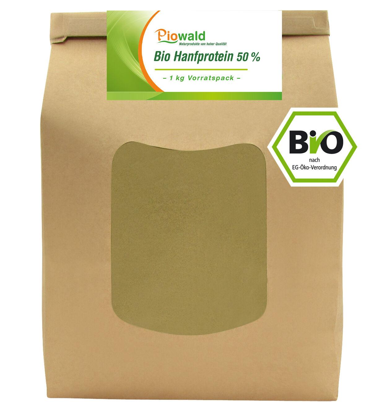 BIO Hanfprotein - 1 kg Vorratspack (19,90€/kg)