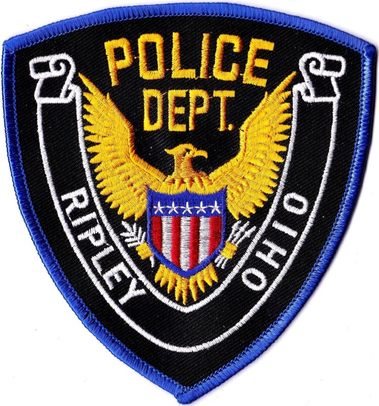 Ripley Police Dept. Ohio patch OH NEW!!