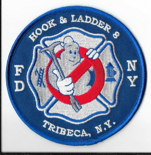 New York Fire Department (FDNY) Ladder 8 Tribeca Patch V2